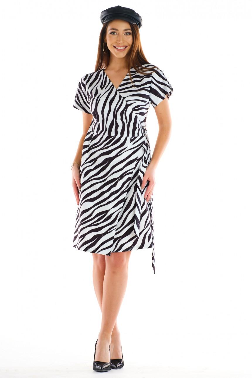 Sukienka POLA zebra rozm. 38-52