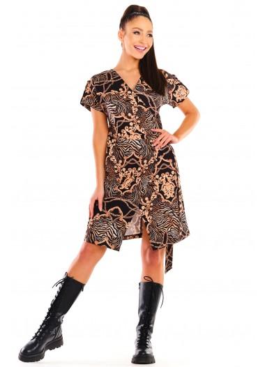 Sukienka POLA czarno-złota rozm. 38-52