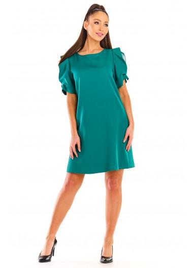 Sukienka LOREN zielona rozm. 38-50